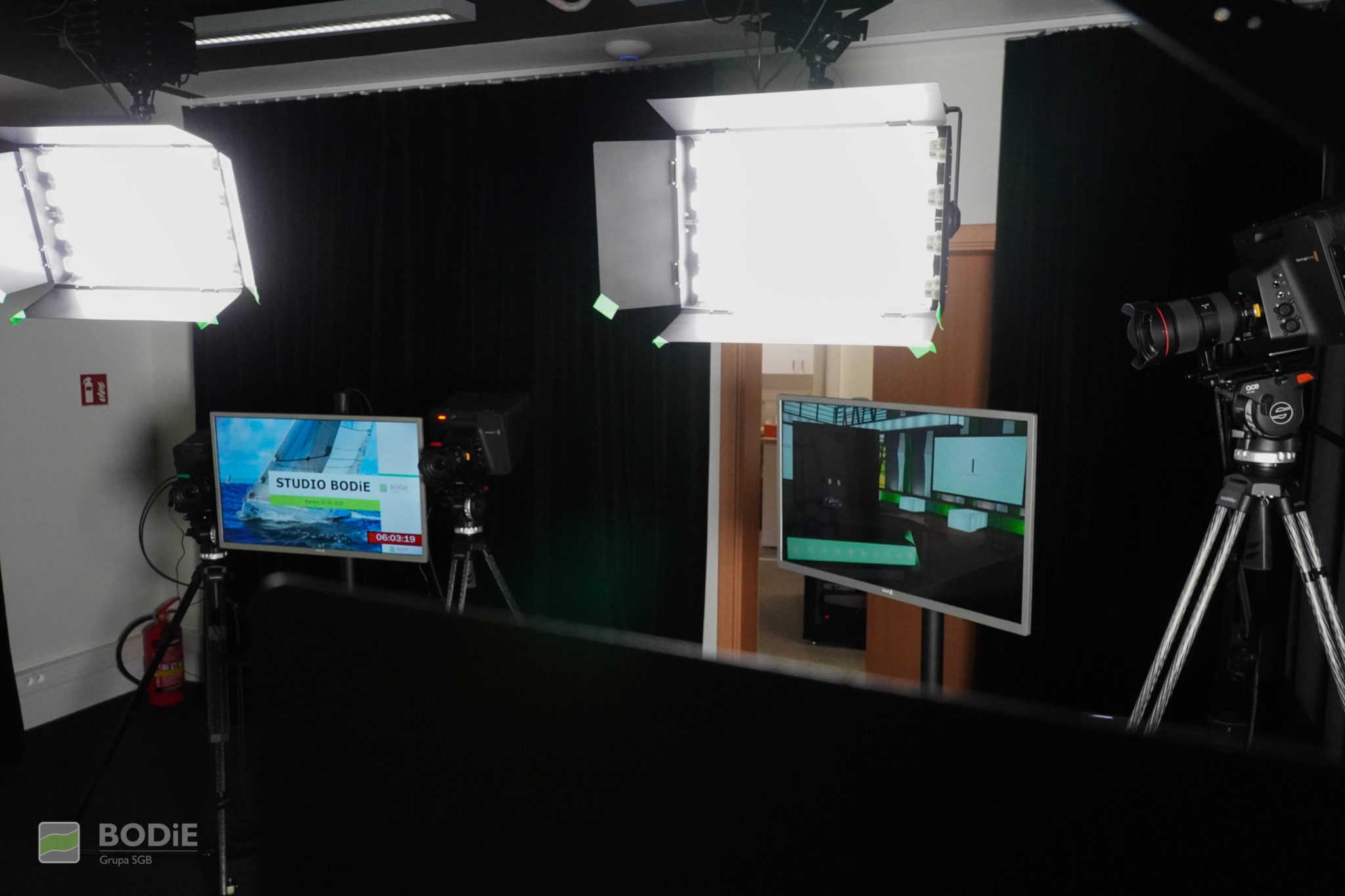 sesja nagraniowa w studio bodie